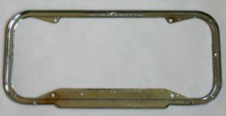 Haworth Chevrolet Hermosa Beach California Dealer License Plate Frame