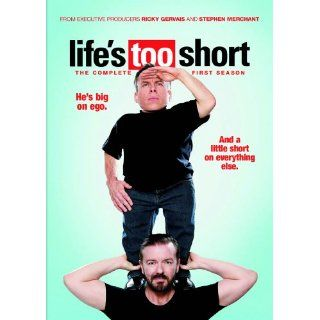 Lifes Too Short The Complete First Season DVD Kicky Gervais Stephen