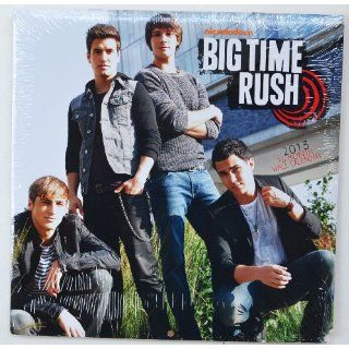 Big Time Rush 2013   16 Month Wall Calendar 10x10