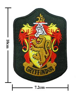 Harry Potter Crest Iron Gryffindor Patch Badge B 2