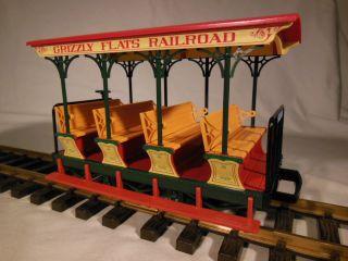 30430 LGB Grizzly Flats Railroad Open Passenger Car