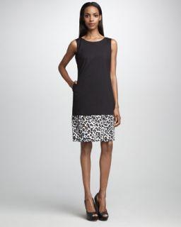Ali Ro High Neck Printed Shift Dress