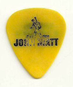 JOHN HIATT CROSSING MUDDY WATERS TOUR GUITAR PICK STAGE USED