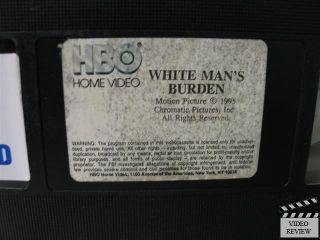 White Mans Burden VHS John Travolta Harry Belafonte Margaret Avery