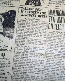 Honey Grove TX Texas Negro Lynching Sam Johnson 1930 Old Newspaper