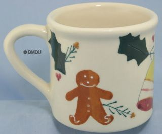 Hartstone Pottery Gingerbread Man Mug