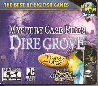 Mystery Case Files Dire Grove + Bonus Hidden Object PC Games