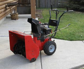 Snow Blower 24 Murray Two Stage   Electric Start   6 Speeds Forward