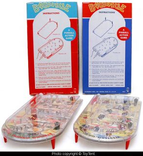 Hunt Safari and Wild West Bagatelle Pinball Games Hasbro Boxed