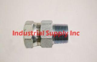 1404 04 04 Hydraulic Adaper #04 Male Pipe Sraigh x Female Pipe