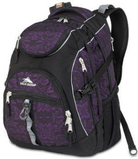 High Sierra Access School Daypack Backpack Plum Lace