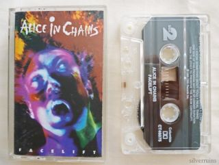 alice in chains facelift cassette tape 90 s columbia time