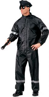 High Visibility Reflective 2 PC Police Officer Rainsuit