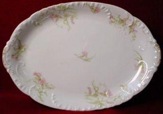 Haviland China Schleiger 472C pttrn Oval Meat Platter