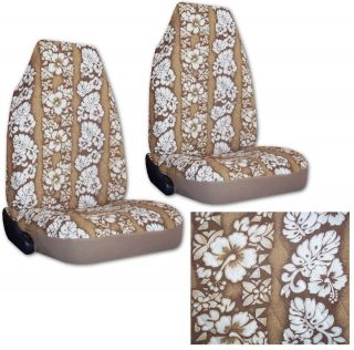 Tan Hawaiian Car Truck Seat Covers New Seatcovers CS