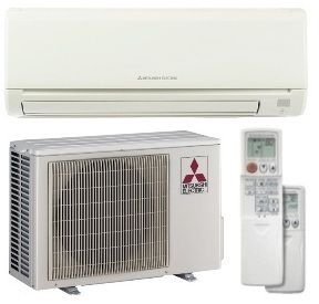 Mr Slim Ductless AC MUZGE12NA MSZGE12NA 12K BTU Mini Heat Pump