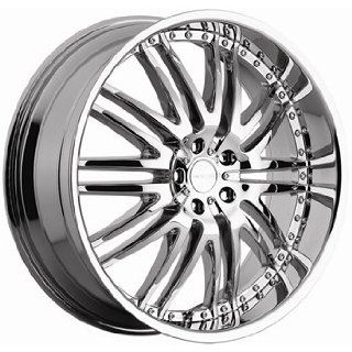 Menzari M Sport 22x10 Chrome Wheel / Rim 5x112 with a 45mm Offset and