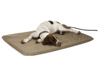 Pets Heated Bed Outdoor Indoor Cats Dog House Bed Warmer w Fleece Pads