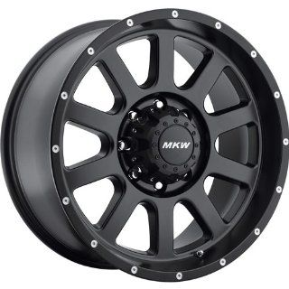 MKW Offroad M86 20 Black Wheel / Rim 8x6.5 with a 10mm Offset and a