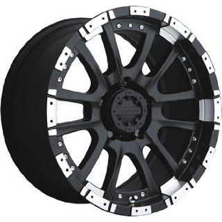 Advanti Racing Roccia 18x9 Black Wheel / Rim 6x5.5 with a 0mm Offset