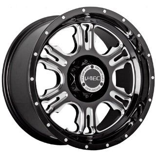 Tec Rage 17 Black Wheel / Rim 5x4.5 with a +12 mm Offset and a 83