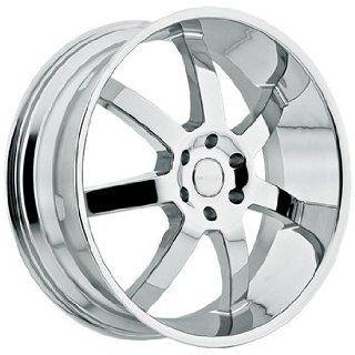 Menzari Absolute 22x9.5 Chrome Wheel / Rim 6x5.5 with a 15mm Offset