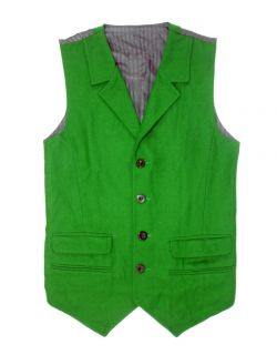 Heath Ledger Joker Green Waistcoat Vest x Large Chest 46 48