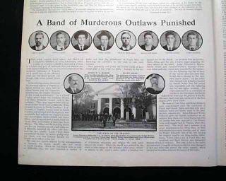 Floyd Allen Clan Gang Hillsville VA Virginia Courthouse Shootout 1913