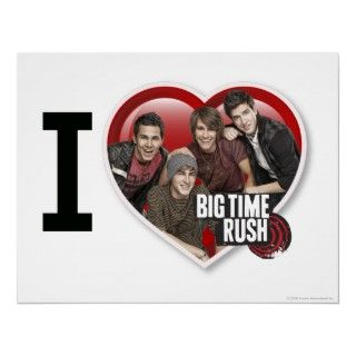 Love Big Time Rush Poster