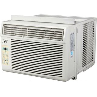 12000 BTU Window AC Unit 700 Sq ft Air Conditioning Sunpentown Energy