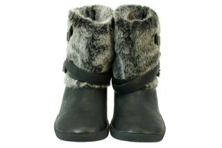 Blowfish Hayward Women Black Leather Ankle Boots