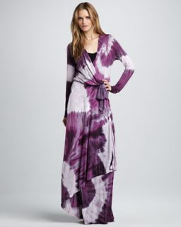 dye maxi dress available in purple $ 255 20 young fabulous and broke