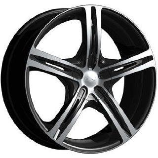 CX CX17 20x8.5 Machined Black Wheel / Rim 5x112 & 5x4.5 with a 40mm