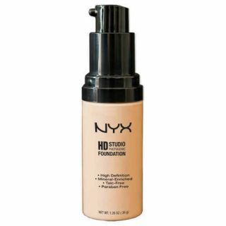 NYX Cosmetics HD Foundation High Definition Pick Any 1 Color Free
