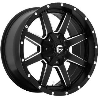 Fuel Maverick 18 Black Wheel / Rim 8x6.5 with a 1mm Offset and a 125.2