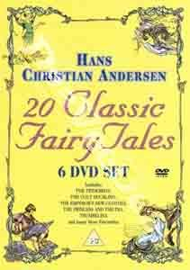 Hans Christian Andersen 20 Classic Fairy Tales NEW PAL Kids 6 DVD Set