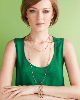 Marco Bicego Paradise Linear Earrings, Bracelet & Necklace   Neiman