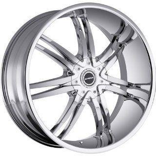 Strada Diablo 20 Chrome Wheel / Rim 6x135 & 6x5.5 with a 33mm Offset