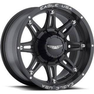 American Eagle 27 20 Matte Black Wheel / Rim 6x135 & 6x5.5 with a 15mm
