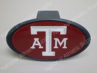 Texas A M Aggies 2 Hitch Receiver Plug Cover TAMU New