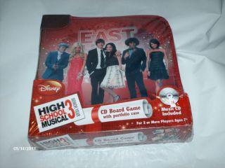 Disney High School Musical 3 Senior Year CD Board Game