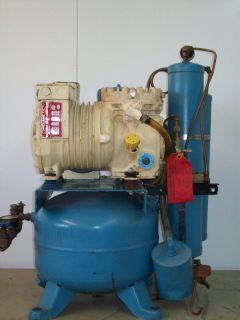 Dental Single Head Oil Type Compressor w Air Dryer