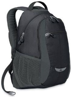 High Sierra Curve Daypack School Backpack Black