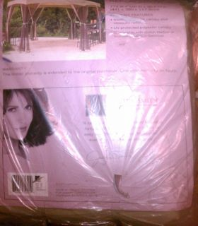 NEW in PKG Jaclyn Smith Dutch Harbor Replacement GAZEBO CANOPY