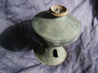 Pedestal Dish with Cover Korea Three Kingdoms Period Silla Kingdom 5th