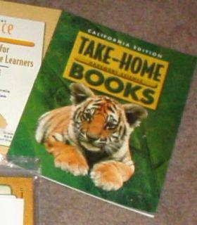 HARCOURT BRACE 2ND Grade 2 CALIFORNIA SCIENCE TAKE HOME BOOKS
