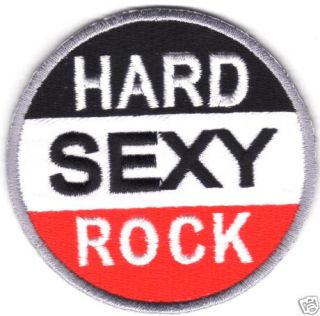 Hard Rock Logo Embroidered Iron Patch T Shirt Sew Cloth