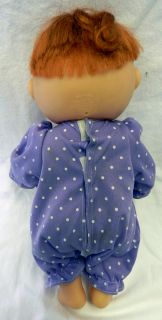 Patch Kid CPK Red Hair Blue Eyes Preemie Hard Body Baby Doll