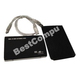 SATA Hard Disk Drive HDD Case Enclosure USB 2 0 New