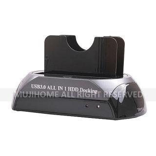 IDE SATA HDD Hard Drive Dock Docking Station USB 3 0
